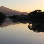 Canal do Cunha visto da Av. Brasil