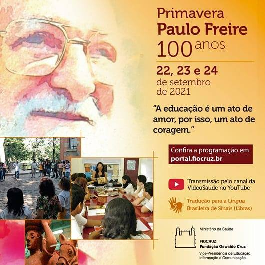 Primavera Paulo Freire 100 Anos